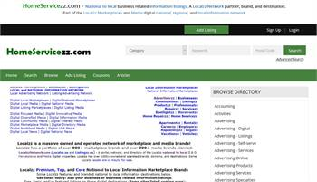 HomeServicezz.com - National to local home service related information listings.